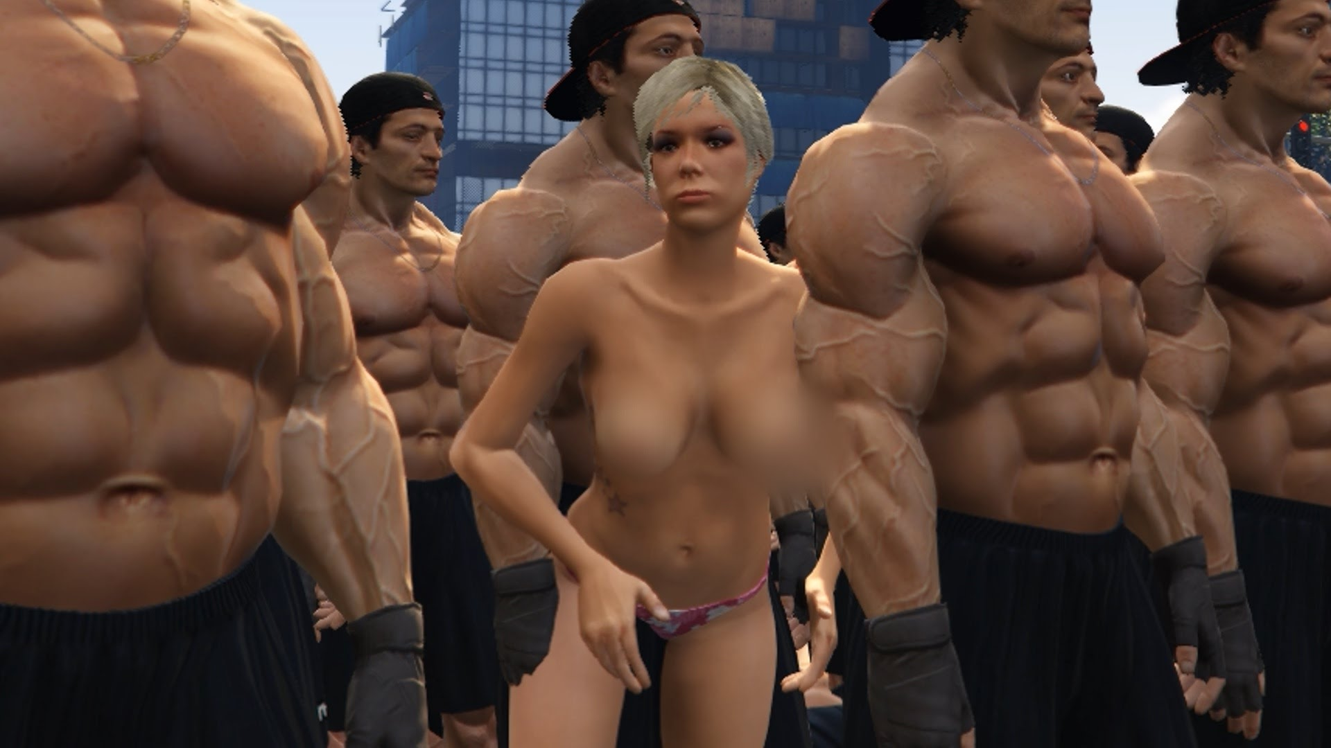 Naked bitches in gta5 xxx video
